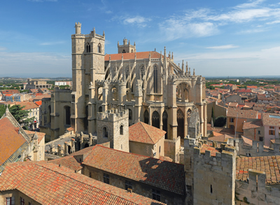 The cathedral, Narbonne